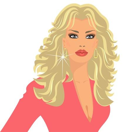 blonde Vector
