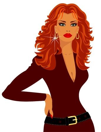 earring: beautiful woman