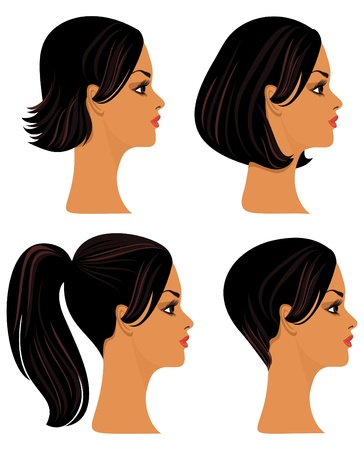 Hairstyles Stock Vector - 9226459