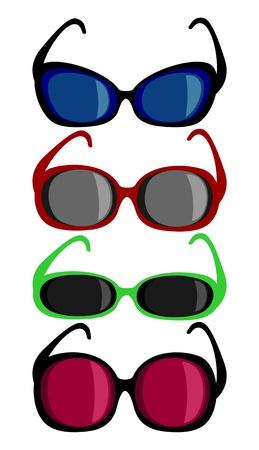shades of grey: sunglasses
