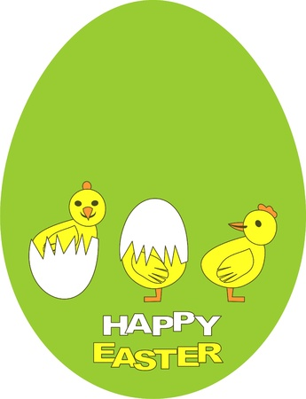 Happy Easter Stock Vector - 9226461