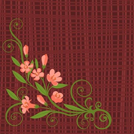 pink flower Stock Vector - 9457063