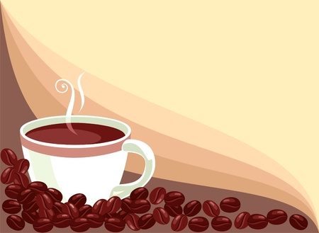 cup of coffee Stock Vector - 9560958