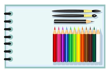 set for children's creativity Stock Vector - 9718263