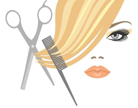 comb hair: taglio di capelli