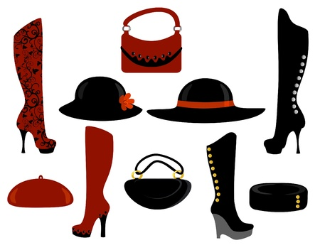 Trendy Clothes Stock Vector - 9722326