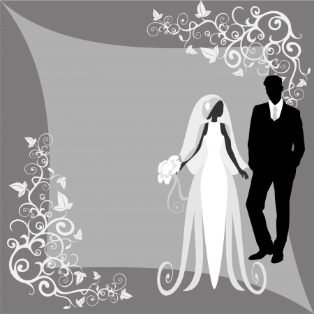 bodas de plata: boda Vectores