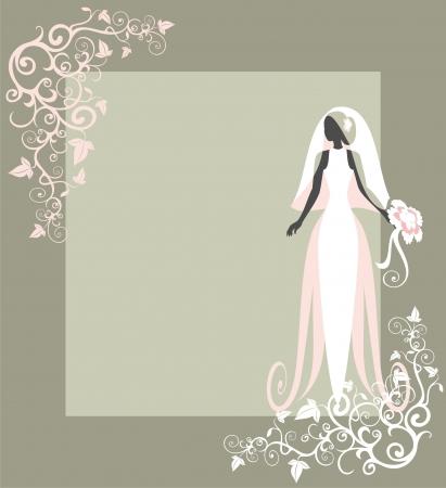 eleg�ncia: casamento Ilustra��o