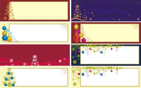 christmas flake: xmas banner