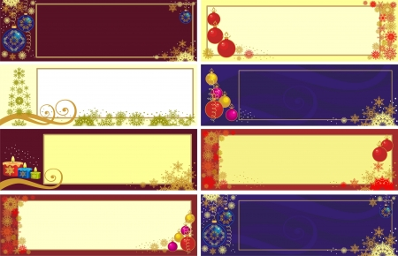 xmas banner Stock Vector - 16017117