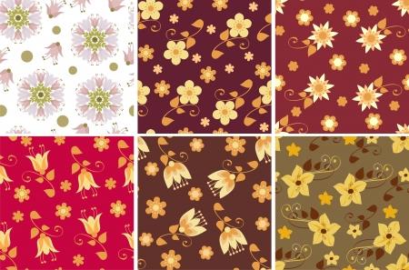 coloration: Scrapbook backgrounds Illustration