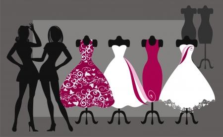 dressmaking: fashion dresses