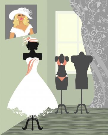 white underwear: salone di nozze