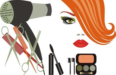 plastic comb: beauty