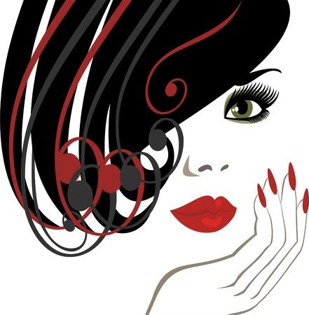 manik�re: Haarschnitt