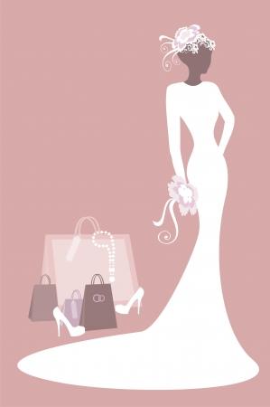 bridal salon: bride