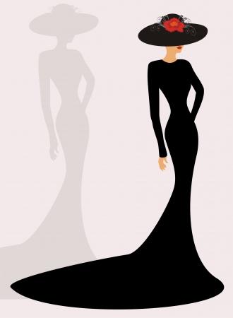 siluetas de mujeres: moda