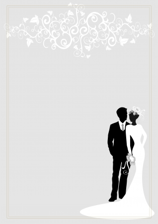 gray suit: wedding