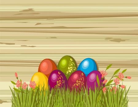 Easter eggs Stock Vector - 21777665
