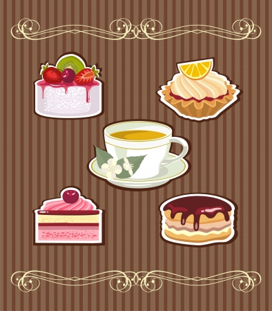 whip: tea and cakes