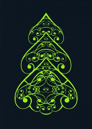 luminescent: christmas tree