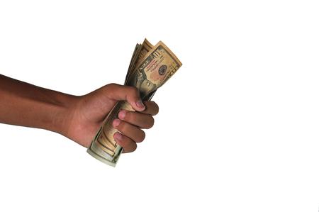 hand grip: Banknotes hand grip