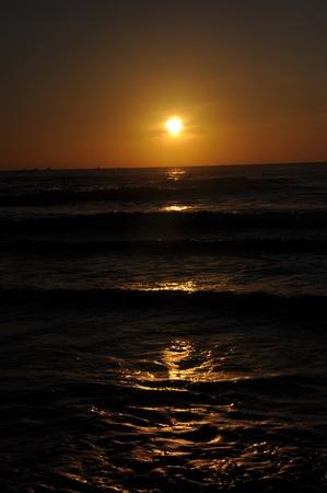ne: Sunrise at Mui Ne beach, Mui Ne, Vietnam