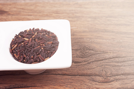 black berry: Black rice Thailand (Berry rice)