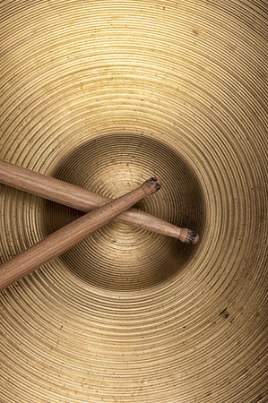 cymbal: cymbal and drumstick textures