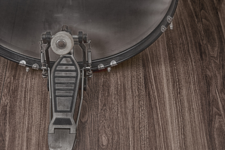 drum and bass: Bass Drum . Style Vintage