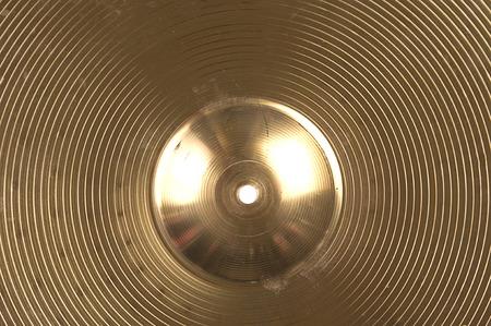 cymbal: cymbal textures Stock Photo