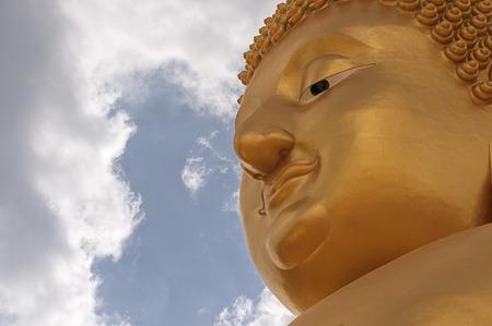buddha image: Beautiful face of Buddha image