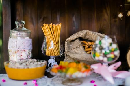 candy bar: Candy bar en una boda