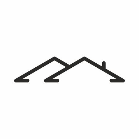 Roof house icon . Vector 일러스트
