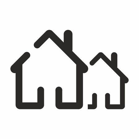House vector icon. Home web sign