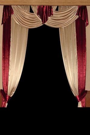 Window curtains photo