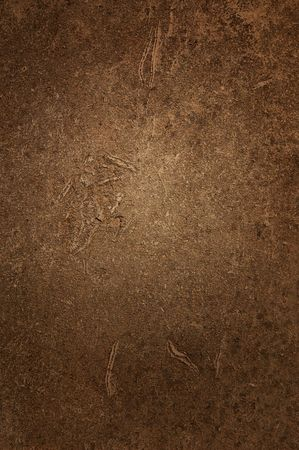 Antiqute brown cement wall  as a background. Stock Photo - 4727026