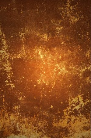 Brown old wall as background. Stock Photo - 5995455