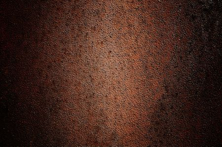 Abandoned metallic brown wall like as background. Stock Photo - 6636628