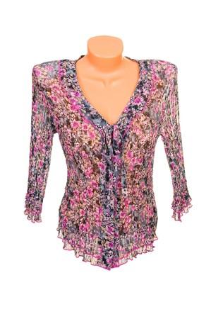 Stylish  blouse isolated on a white background. Stock Photo - 6882150