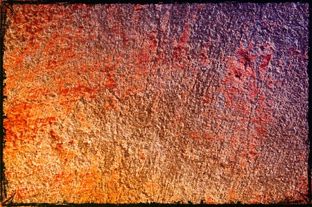 Aging structure of grungy wall can be used as background.