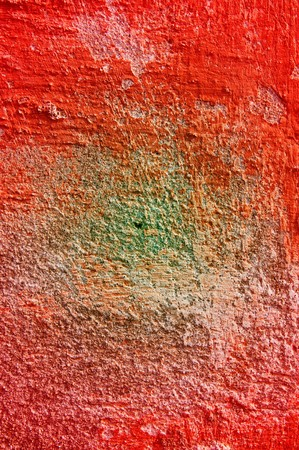 Old  grunge scratched wall as texture. photo