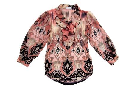Wonderful  blouse isolated on a white background. Stock Photo