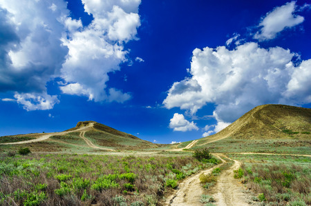 tranquilly: Wonderful Crimean mountains in summer.