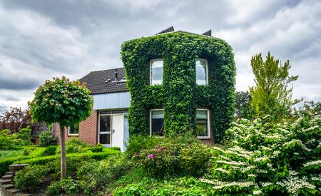 assen: Wonderful house in the Assen town, Netherlands.