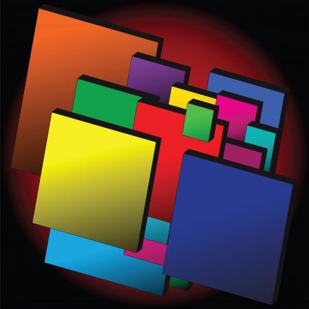 モダンなメモ ブロック デザイン テンプレートです。インフォ グラフィックに使用できます。