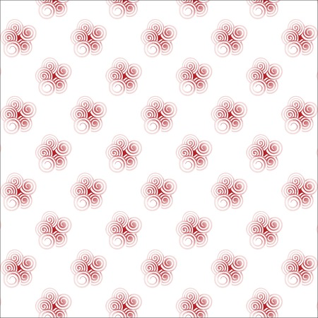 seamless pattern with spiral curls. fashion vector texture