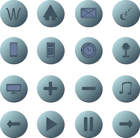 A Set of Icon Buttons.