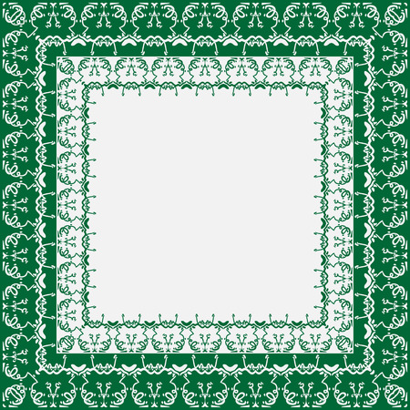Tablecloth or card design pattern Vector