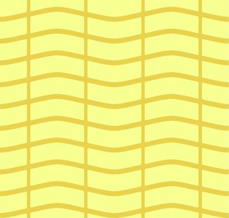 pannier: Simple flat wickerwork pattern.